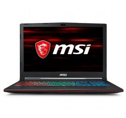 "MSI GAMING GP63 8RE-675ES LEOPARD I7-8750H/256GB SSD/1TB/16GB DDR4/GTX 1060/15.6"" FHD/W10"